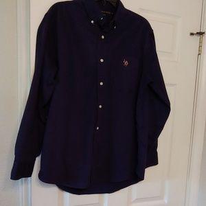 Men long sleeve Polo shirt